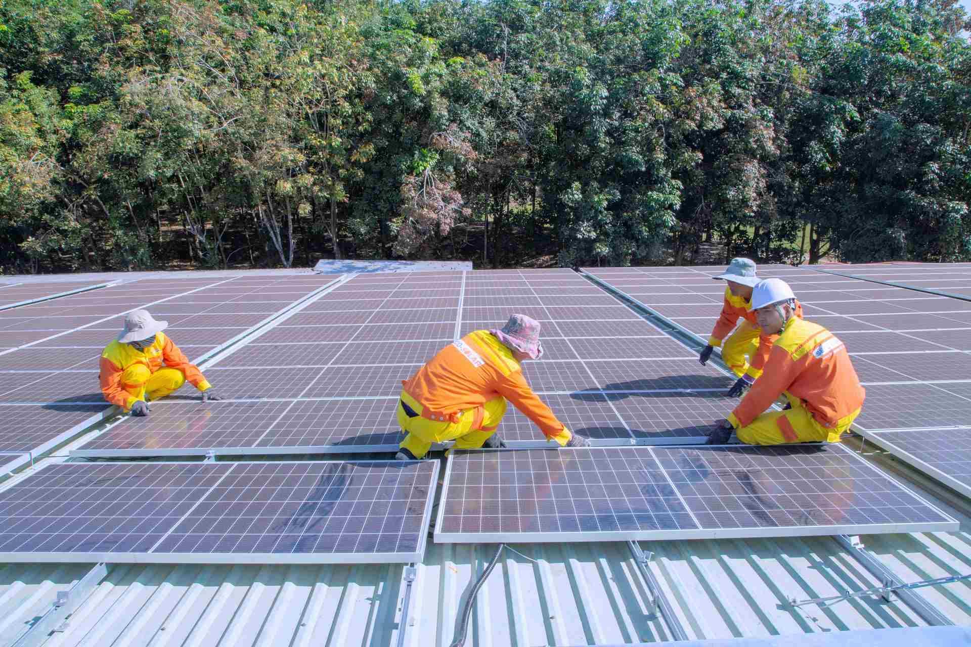 Commercial Solar Panels in Mondovi Wisconsin USA